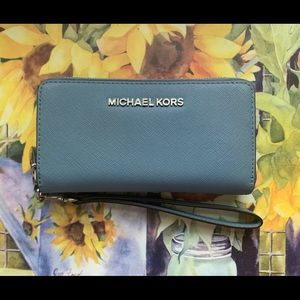 Powder Blue Michael Kors Wallet